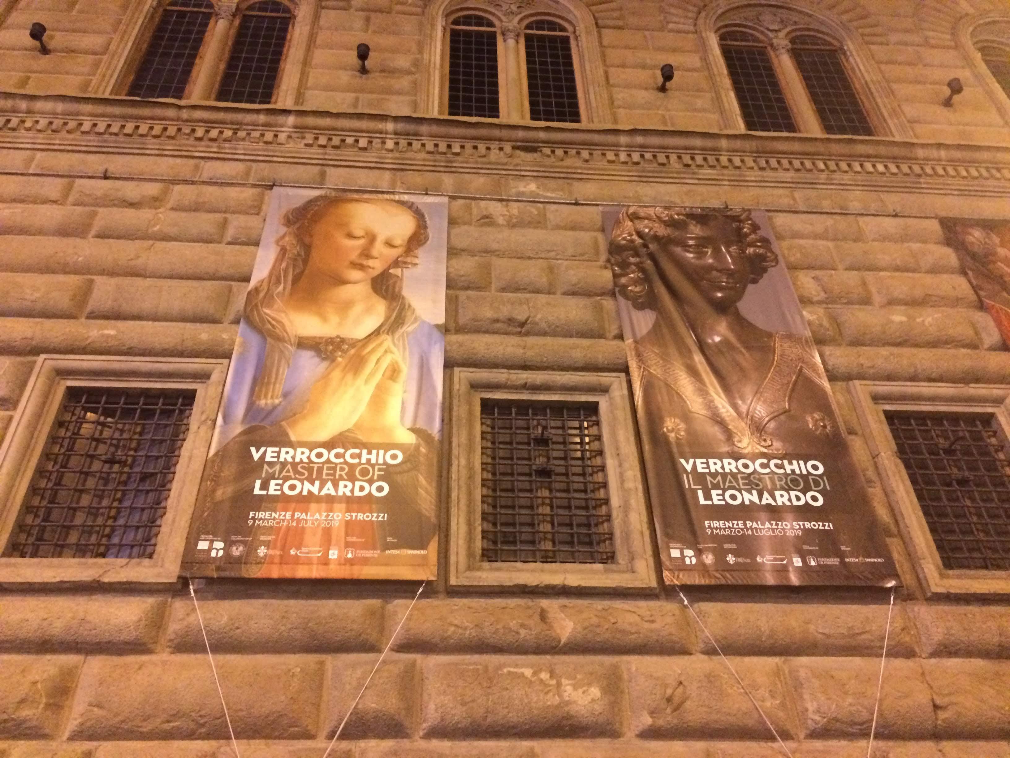 Andrea del Verrocchio e Leonardo Palazzo Strozzi Florence