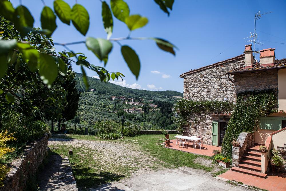 Stone house Tuscany villa