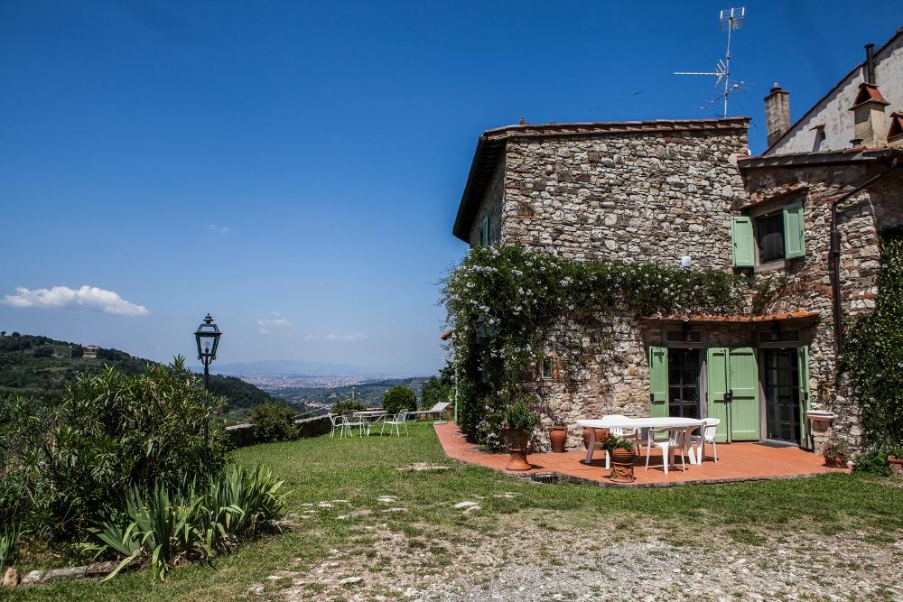 Casa de piedra toscana