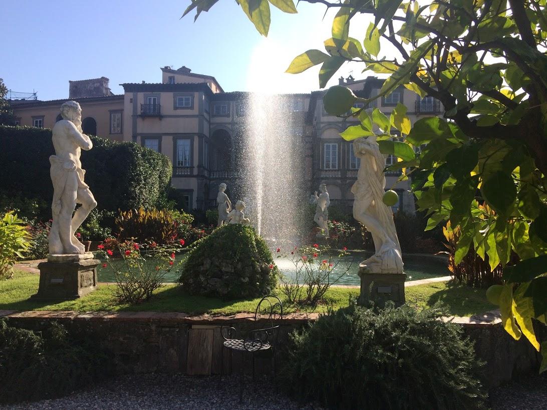 Visiting Villa Pfanner