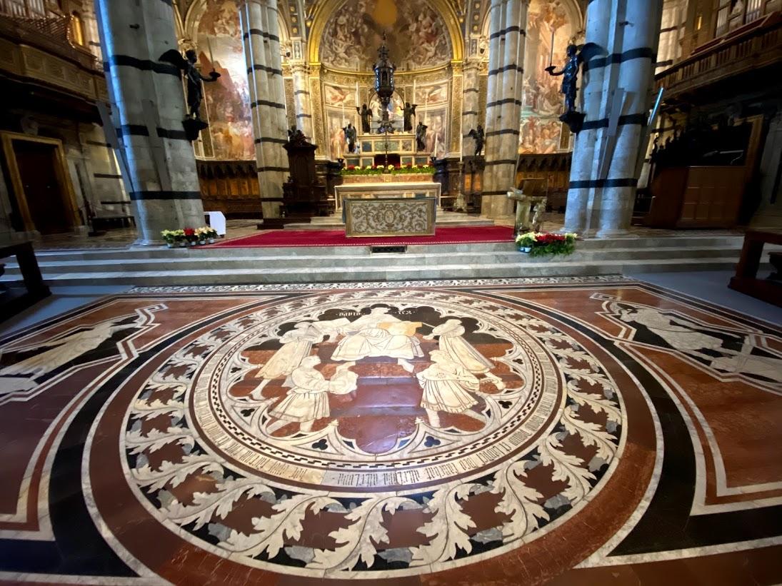 walking tours of Siena