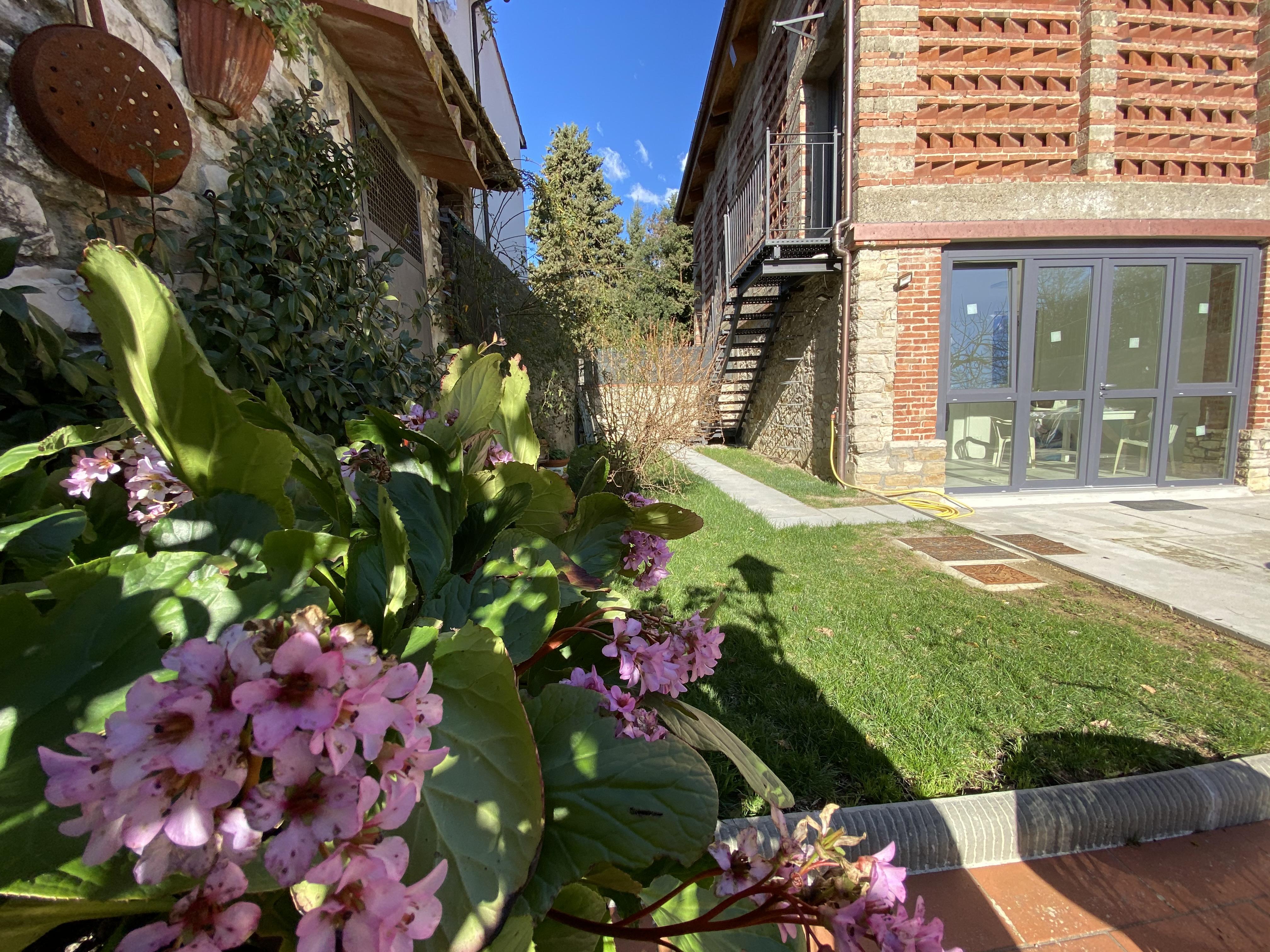 jardin en Toscane