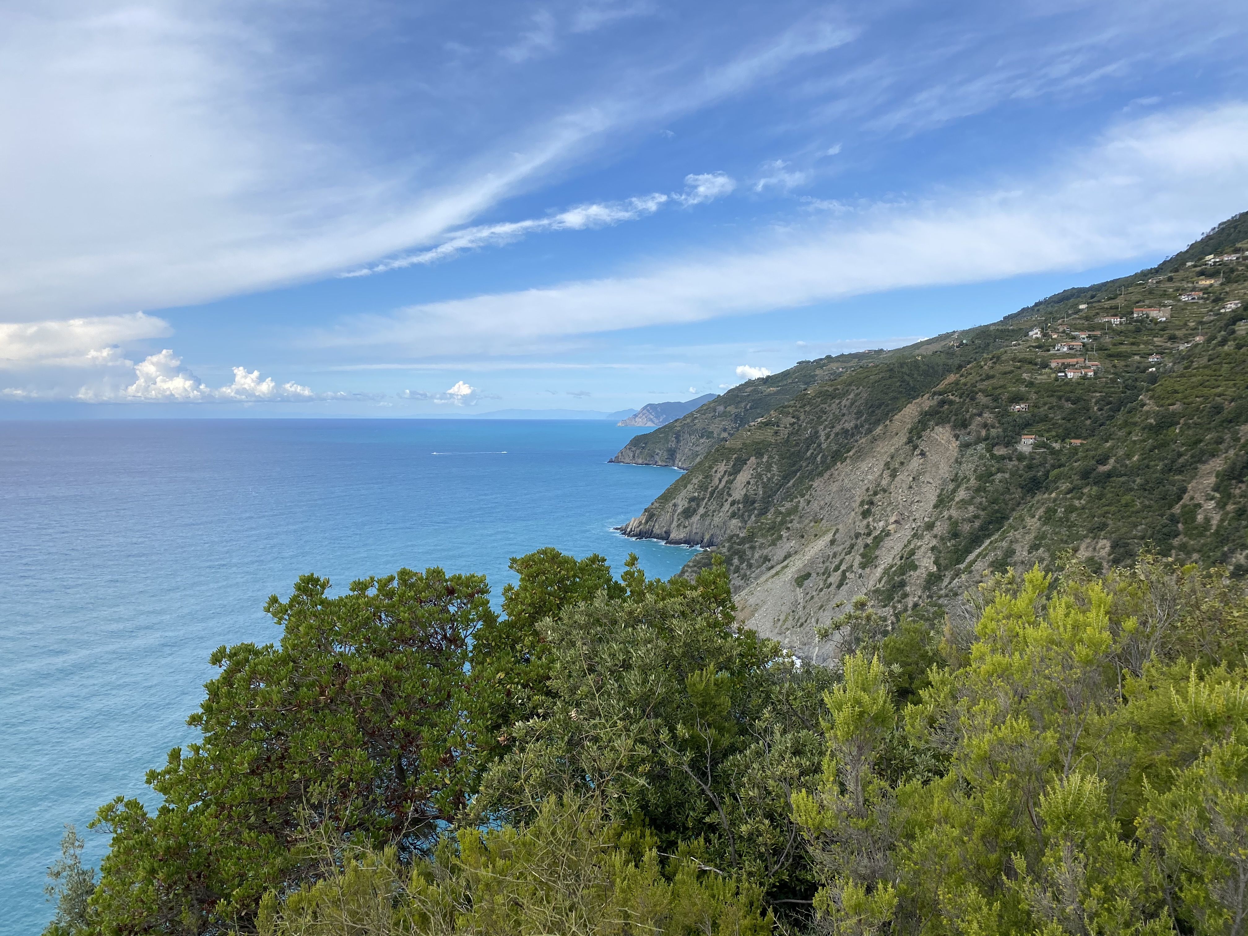 Küste des Nationalparks Cinque Terre