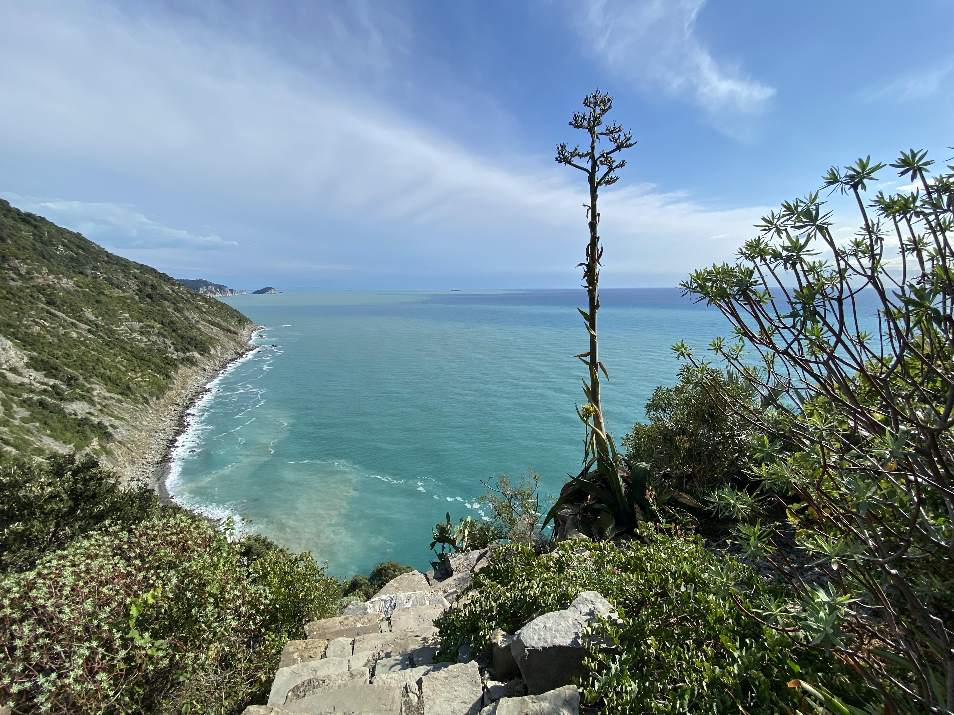 Schiara, la costa vicino a Portovenere
