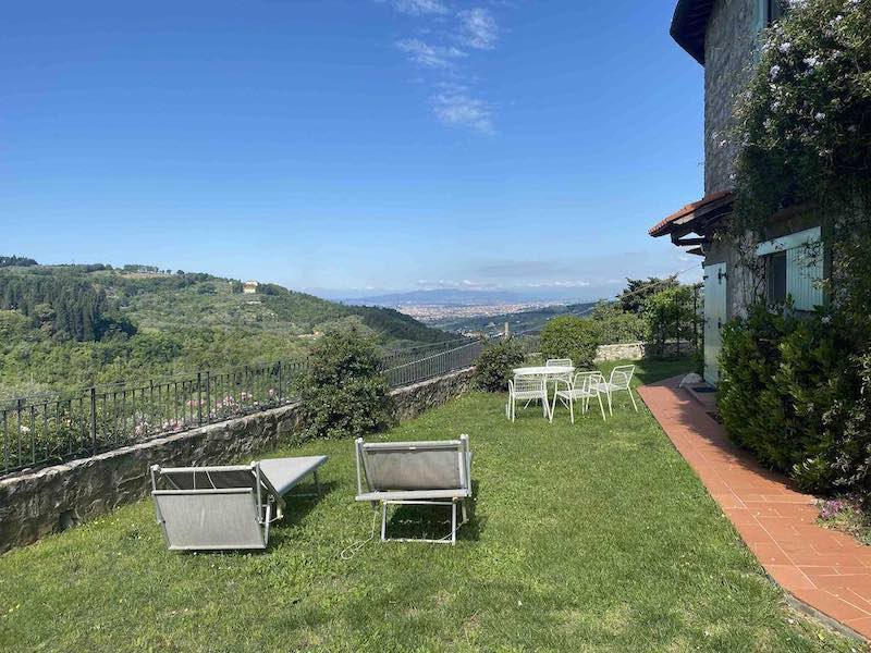 affittare un appartamento in Toscana con vista su Firenze
